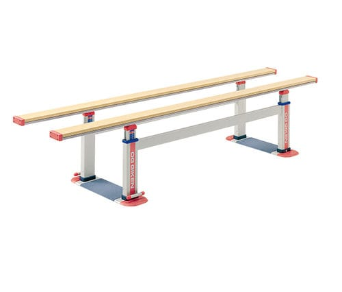 adult rehabilitation parallel bars / height-adjustable
