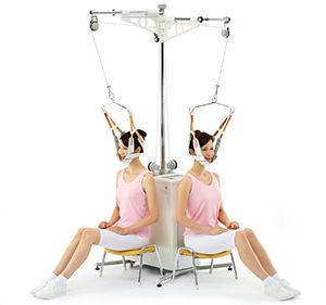 cervical traction unit