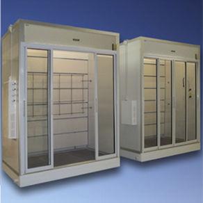 laboratory fume hood / decontamination / containment / floor-standing