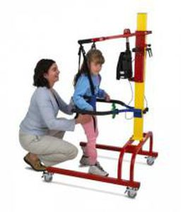 balance rehabilitation system / gait / pediatric