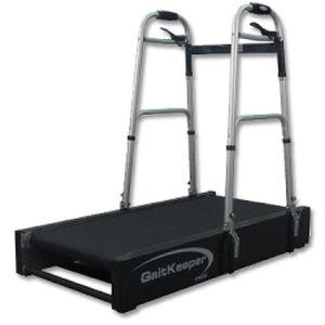 treadmill with underarm bars / with handrails / pediatric