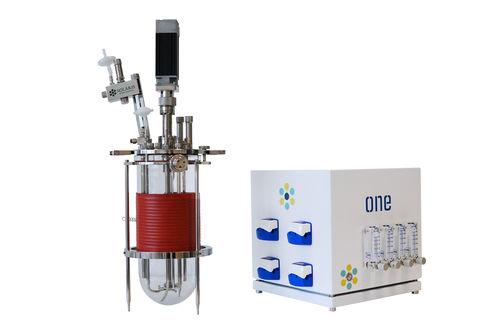 laboratory bioreactor / autoclavable