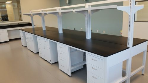 island-type laboratory bench