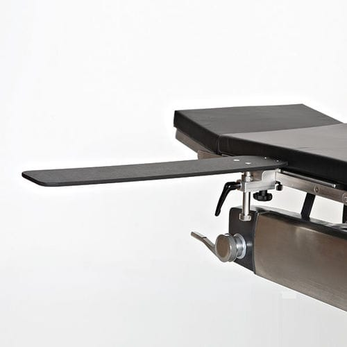 armrest / for operating tables / height-adjustable / radiolucent