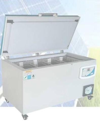 laboratory freezer / medical / chest / combination