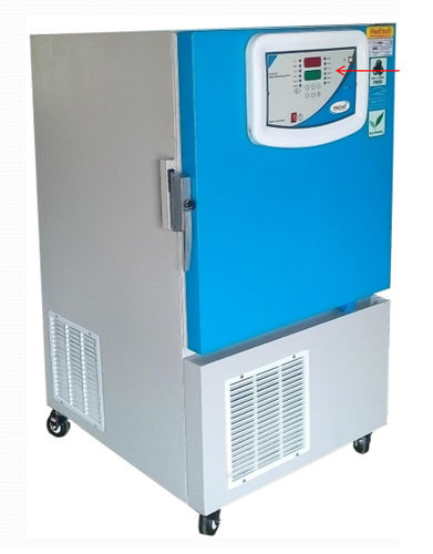 laboratory refrigerator / blood bank / cabinet / 1-door