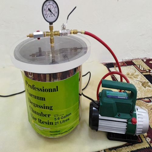 laboratory degassing module