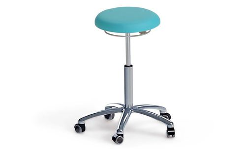 doctor's office stool / on casters