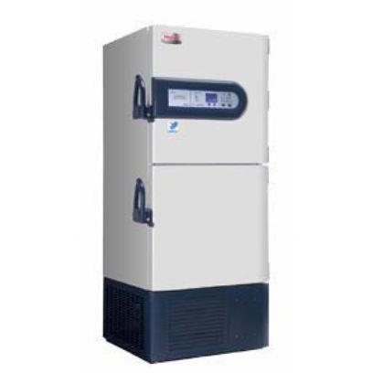 laboratory freezer / cabinet / ultra low-temperature / 2-door