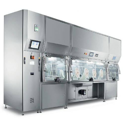 ISO class 5 isolator / for the pharmaceutical industry / aseptic / dispensing