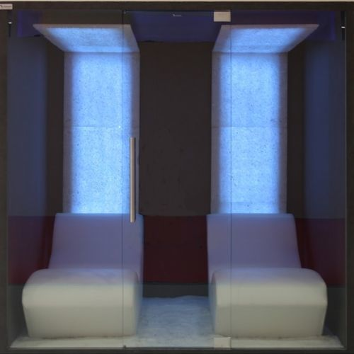 salt therapy chamber