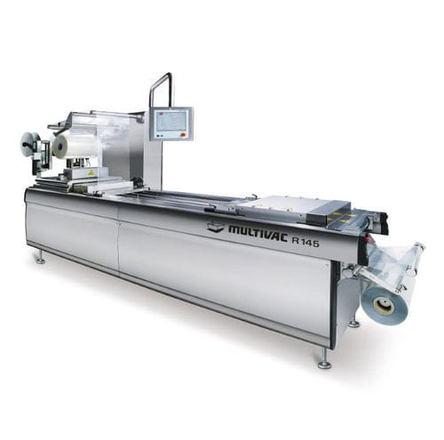 medical packaging thermoforming machine / compact / floor-standing