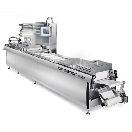 medical packaging thermoforming machine / floor-standing
