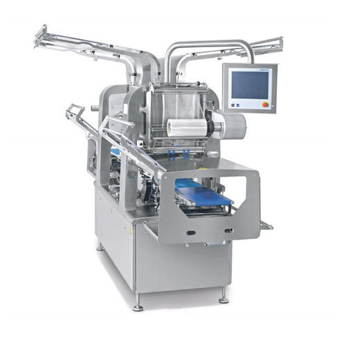 automatic tray sealer / for the pharmaceutical industry / for the medical industry / with touchscreen