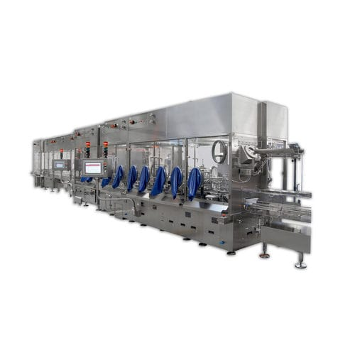 fully-automatic packaging machine / horizontal / rotary / piston