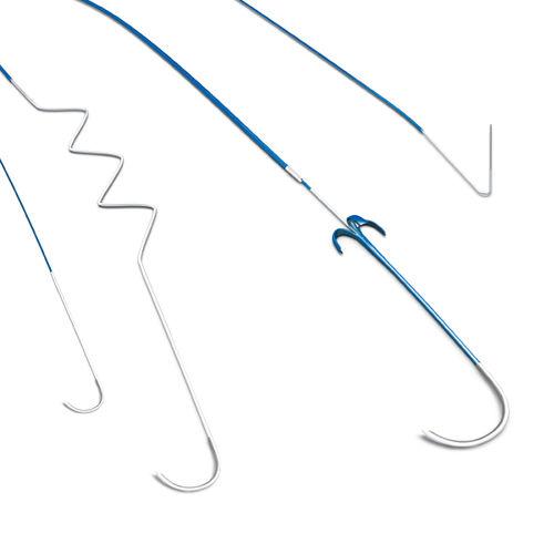 cardiac stimulation lead / quadrupolar
