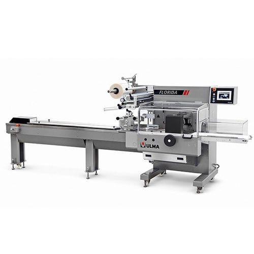 automatic packaging system / electronic / floor-standing / HFFS