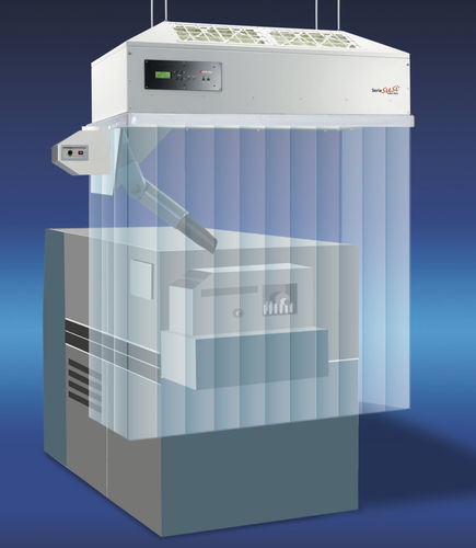 laminar flow cabin / laboratory / with air curtain / with extraction system