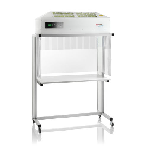 clean room workstation / floor-standing / mobile / laminar flow