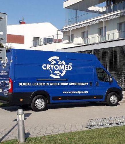 mobile cryotherapy room