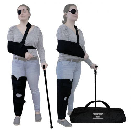 hemiplegia simulation suit