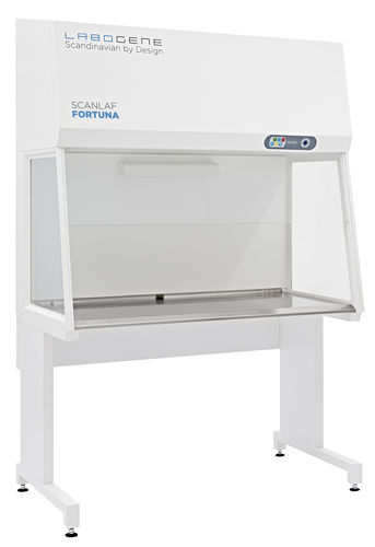 laboratory clean bench / floor-standing / with HEPA filter / vertical laminar flow