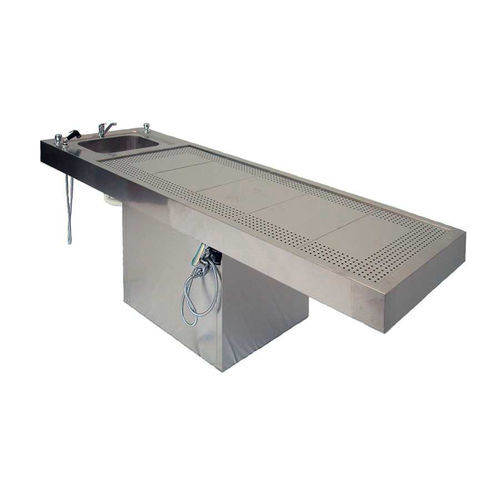 dissection table / autopsy / rectangular / fixed
