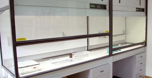histopathology laboratory fume hood / floor-standing