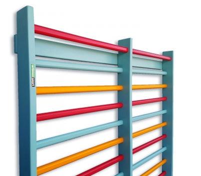 double rehabilitation wall bars