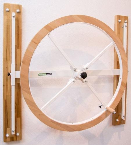 wall-mounted shoulder wheel