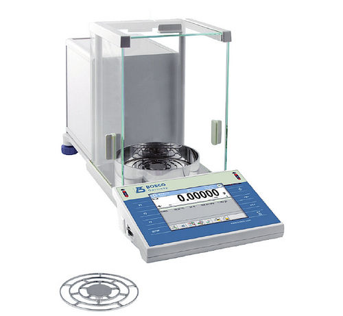 analytical laboratory balance / with digital display / benchtop / with touchscreen