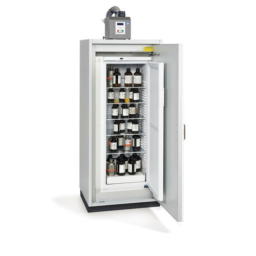 flammable product cabinet / hospital / with shelf / 1-door