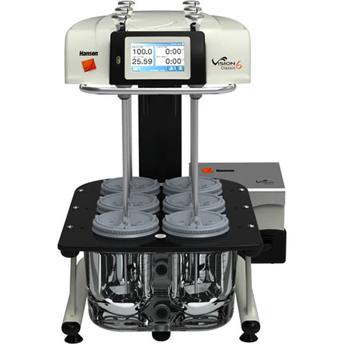 dissolution tester / for the pharmaceutical industry / laboratory / compact