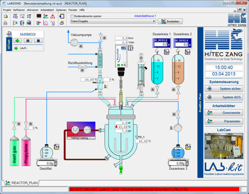 lab automation software / visualization / control / design