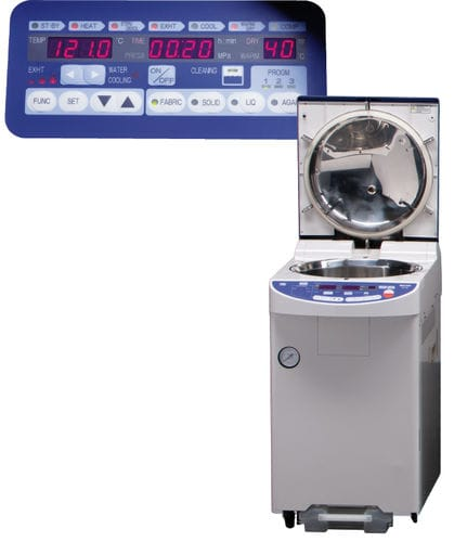 medical autoclave / top-loading / floor-standing / mobile
