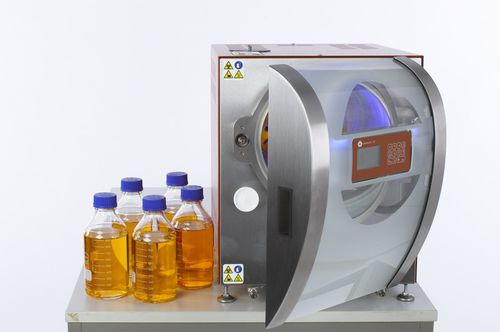 laboratory autoclave / benchtop / compact
