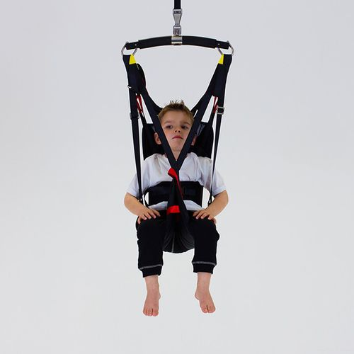 patient lift sling / with head support / pediatric