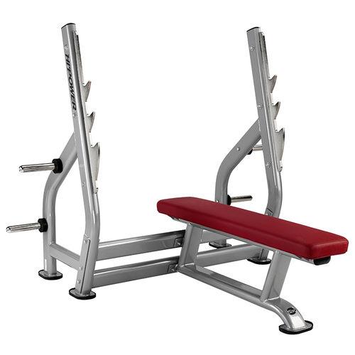 flat weight training bench