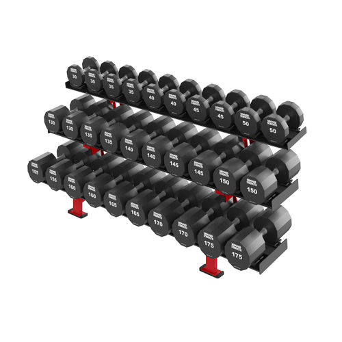 short barbell rack