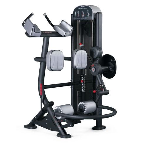 leg curl gym station