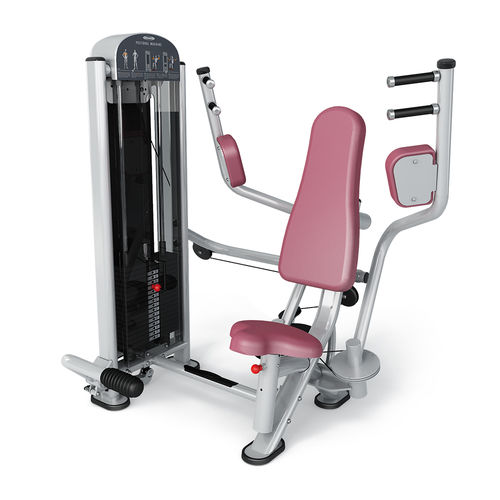 pec deck butterfly gym station