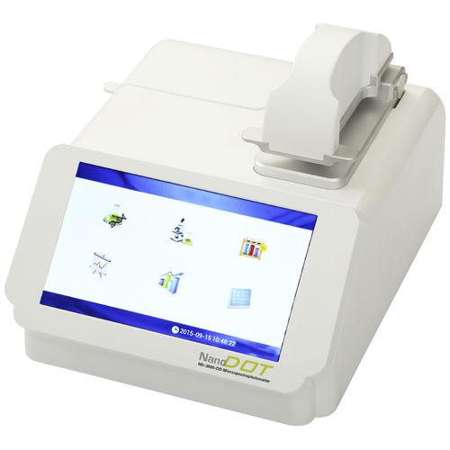 UV-vis micro-spectrophotometer
