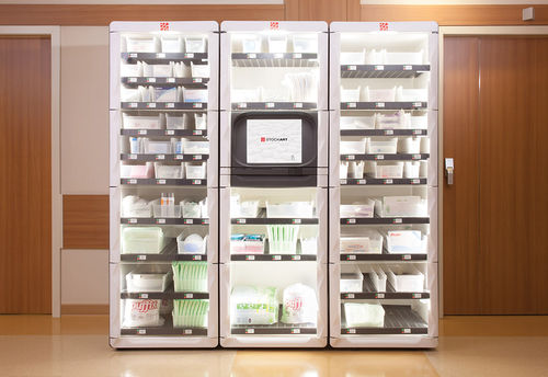 medicine automated dispensing system / for supply / with touch screen