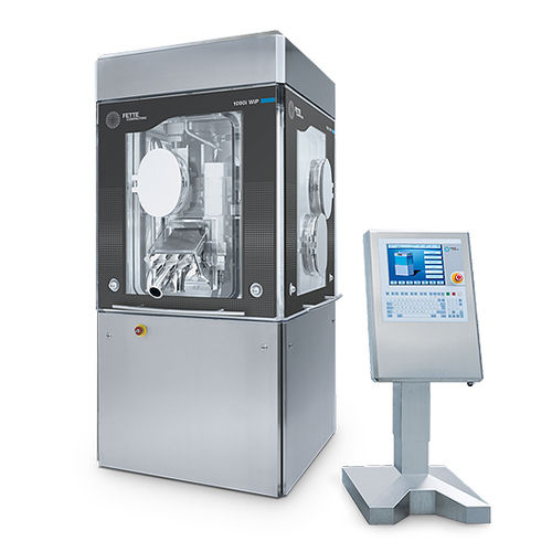 tablet press / containment / rotary / double-sided