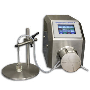 liquid filler / peristaltic / mobile / for the pharmaceutical industry