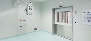 surgery unit wall structure