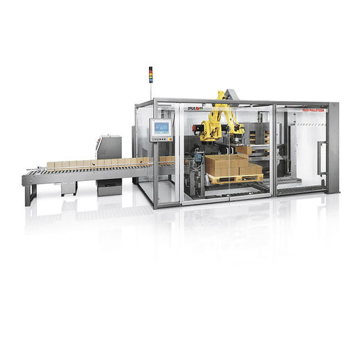 handling palletizer / automatic / case / for the pharmaceutical industry