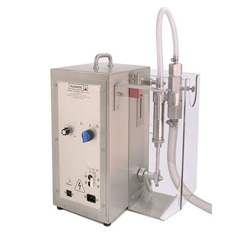 semi-automatic filler / piston / volumetric / tabletop