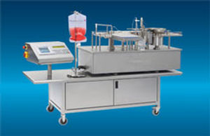 liquid filler / fully-automatic / compact / tabletop