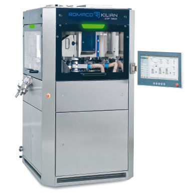 tablet press / for the pharmaceutical industry / for production / high-speed